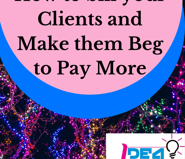 How to bill your clients