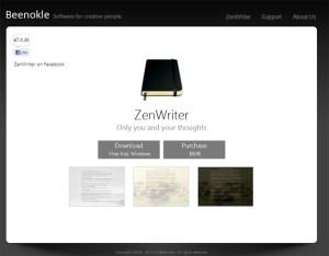 Zen Writer tool for freelancers