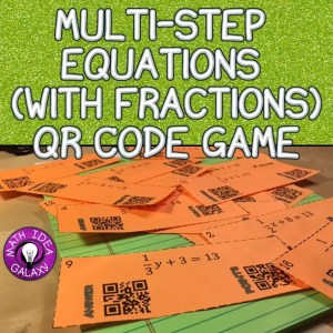 5 Ways to Use QR Codes in the math classroom. QR code games to award points & check answers.