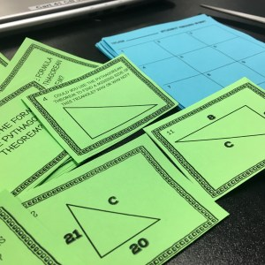 A blog post with tons of fun activities for teaching the Pythagorean Theorem.