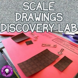 Using a discovery lab to introduce students to scale drawings and proportional relationships.