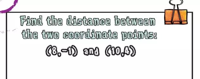 Read this blog post to learn how to teach distance formula through I can statements.