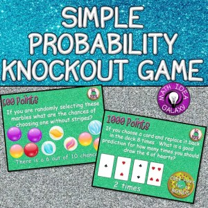 Read this blog post about simple probability activities that engage!