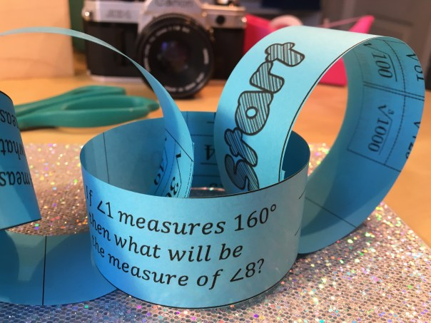 Tips and tricks for using paper chains to get students engaging practice with math problem solving.