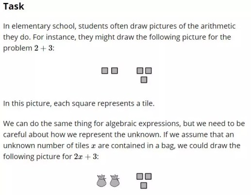 Read this blog post about Multi-Step Equations.