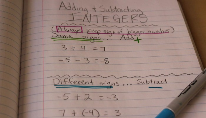 How to Make Adding Integers Stick Forever