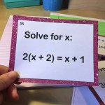 How to teach multi-step equations like a boss