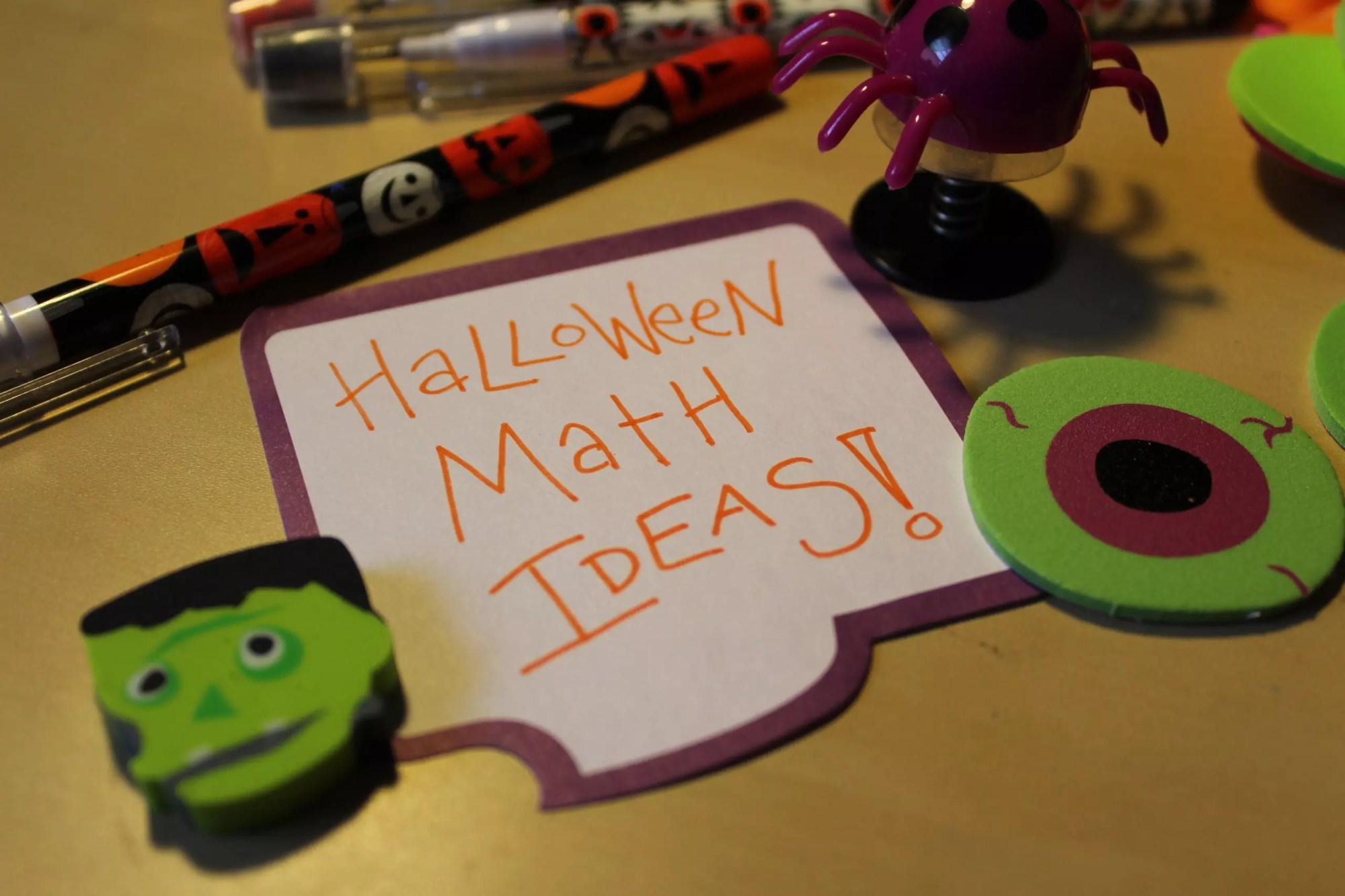 hight resolution of 13 Halloween Math Activities - Idea Galaxy