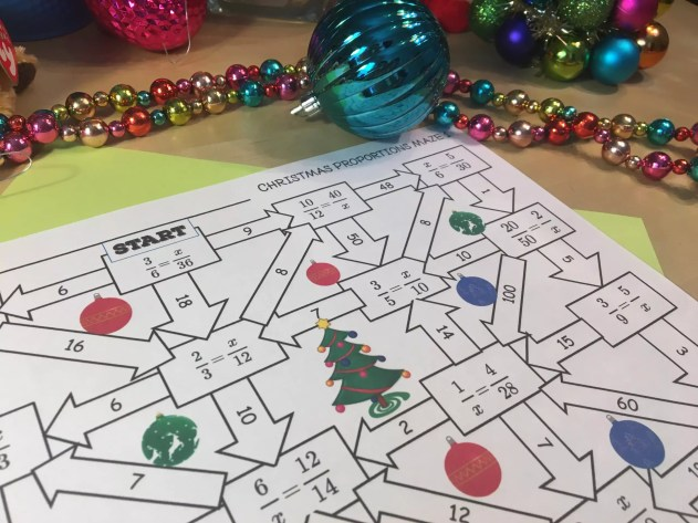 12 Days Of Christmas Math Activities For Middle School Idea Galaxy
