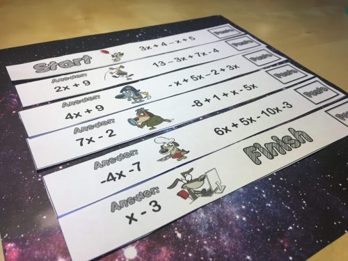 small resolution of 12 Combining Like Terms Activities That Rock - Idea Galaxy