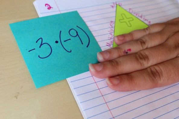 This FREE download is a great addition to the interactive notebook. It helps students identify whether answers to multiplying & dividing integers answers are positive or negative. Check out all 12 multiplying and dividing integers activity ideas and resources, including FREE download, online resources, and time-saving printables.
