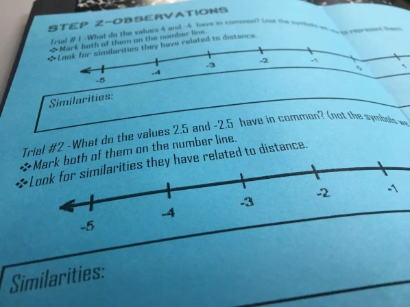 Introducing students to absolute value with a discovery lab = students learning & remembering absolute value. Check out all 11 absolute value activity ideas and resources!