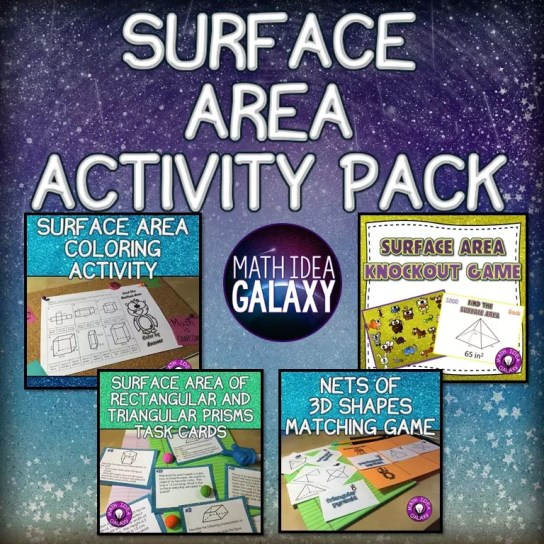 Engaging games and resources help students learn and practice finding surface area.