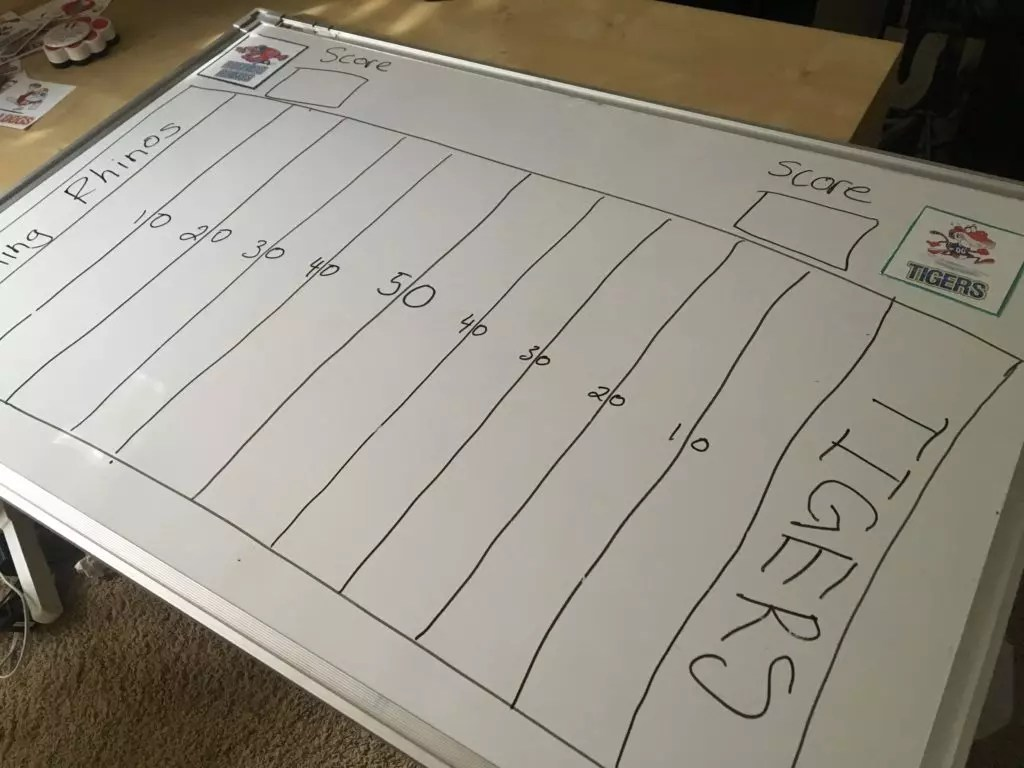 Math Review Game That Works Whiteboard Football