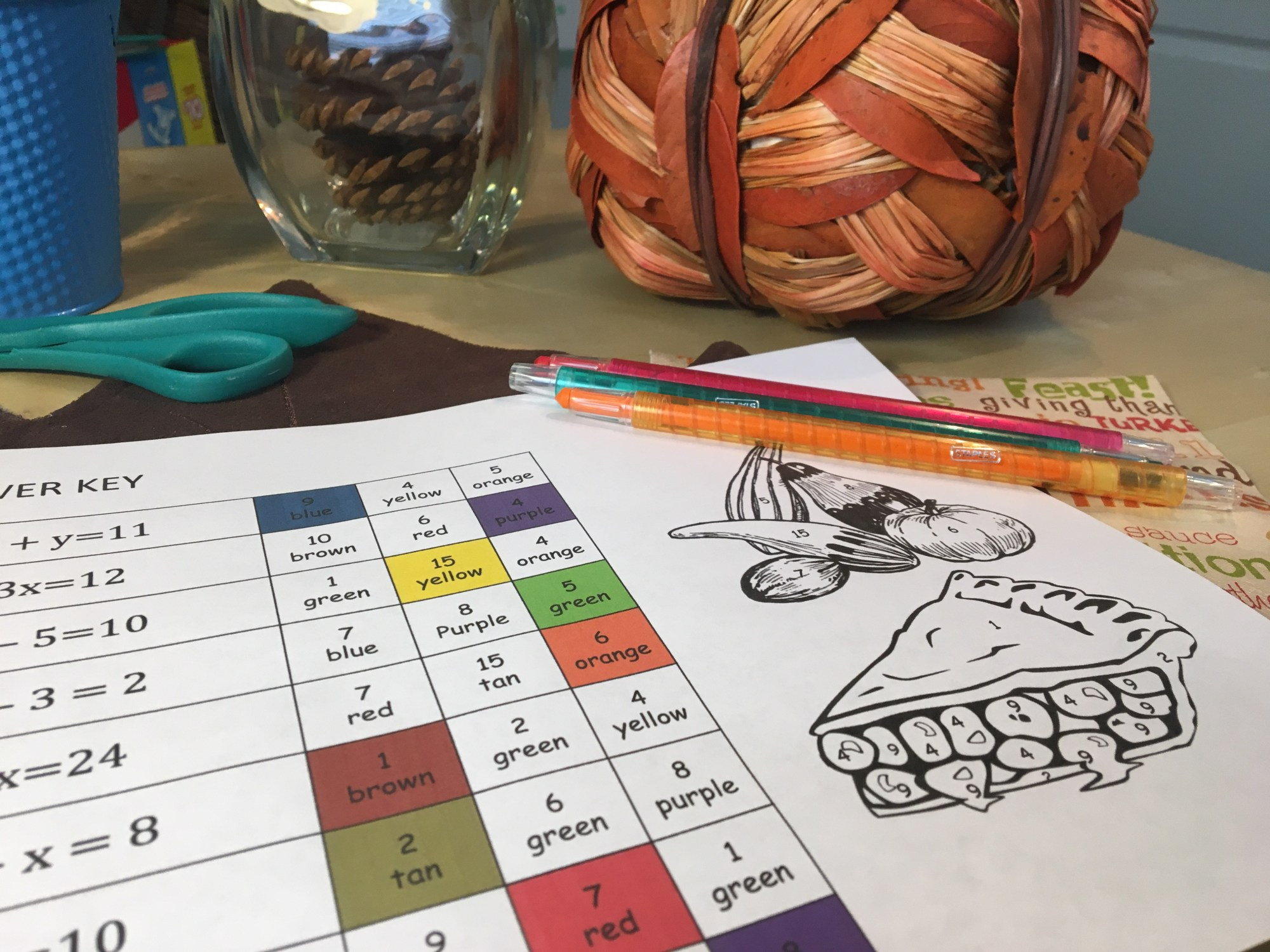 hight resolution of 7 Thanksgiving Math Activities To Add some Spice to Your Class - Idea Galaxy