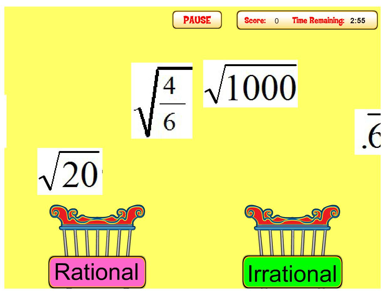9 Activities to Practice Rational versus Irrational Numbers - Idea Galaxy [ 793 x 1024 Pixel ]