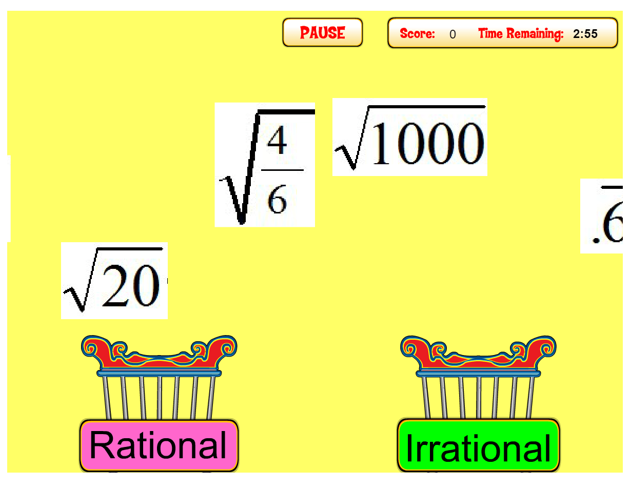 hight resolution of 9 Activities to Practice Rational versus Irrational Numbers - Idea Galaxy