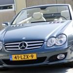 Grey Mercedes-Benz SL600 R230