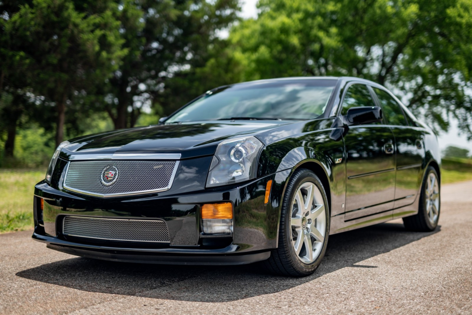 Black Used 2007 Cadillac CTS-V
