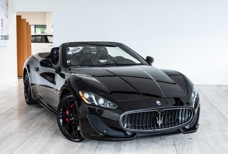 Black 2016 Maserati GranTurismo