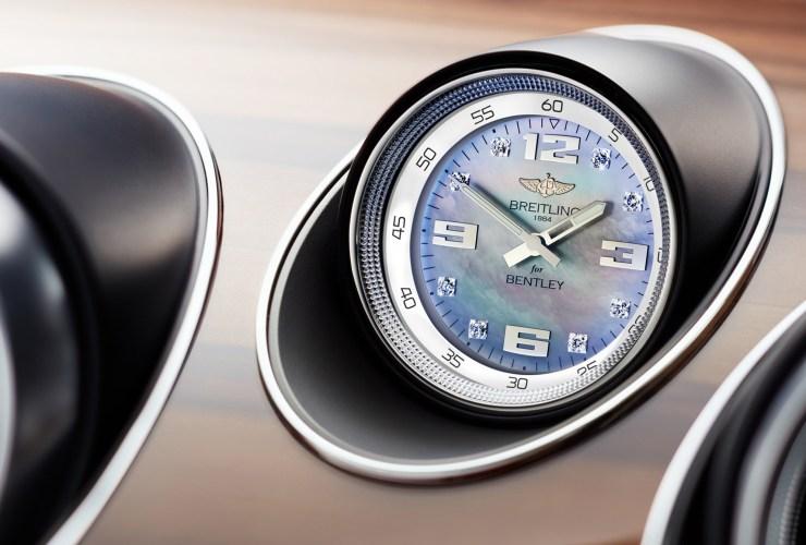 bentley bentayga breitling watch