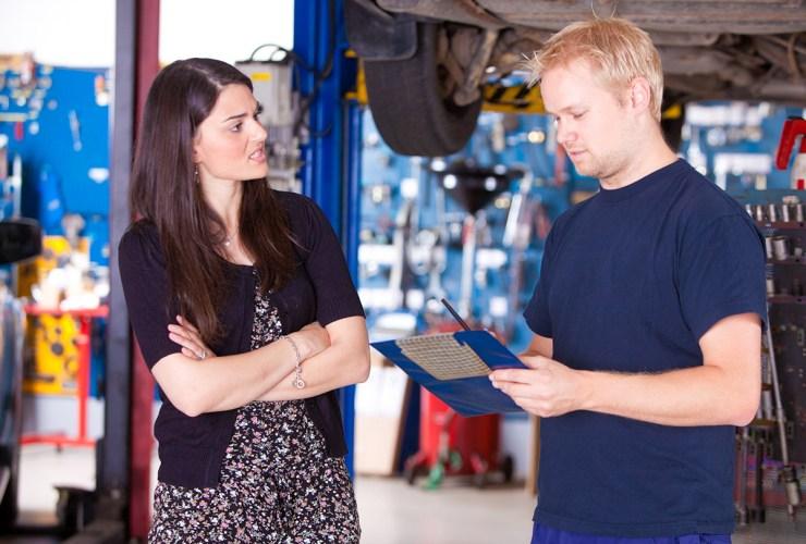car mechanics scams
