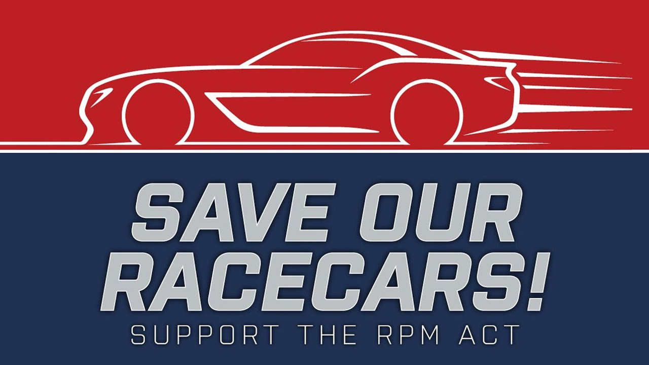 rpm act save our racecars
