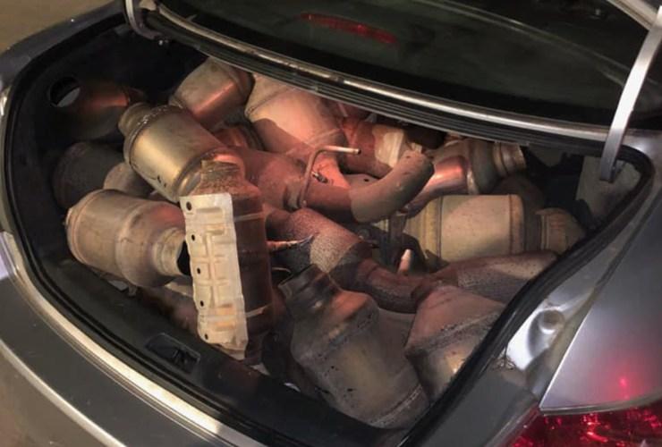 stolen catalytic converter