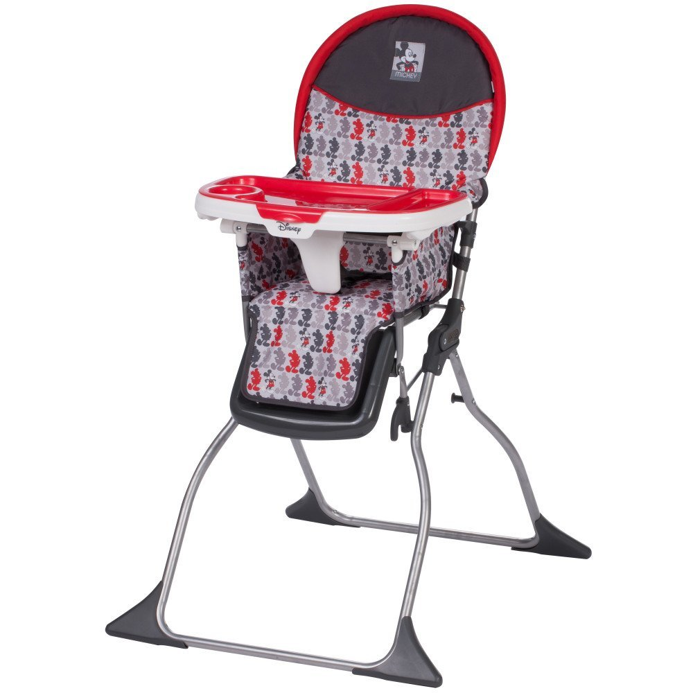 Egg Baby High Chair Disney Baby Simple Fold Plus High Chair Mickey Line Up