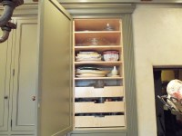 Kitchen pantry with pull out drawers | Ideal Cabinets Inc.