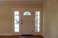 Traditional style front entry | Ideal Cabinets Inc.