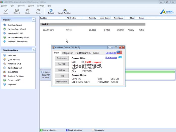 AOMEI Partition Assistant 2020 Crack & Activation Key Download