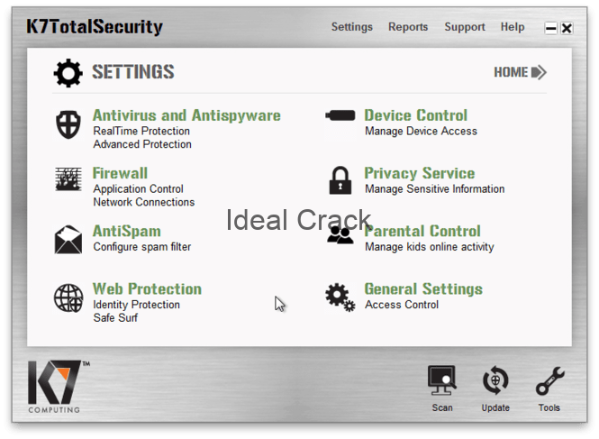 K7 Total Security 2019 Torrent with Activation Key Free Download