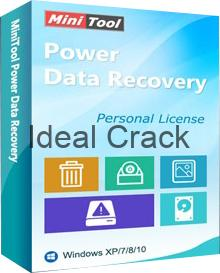 MiniTool Power Data Recovery Crack With Activation Key Free Download