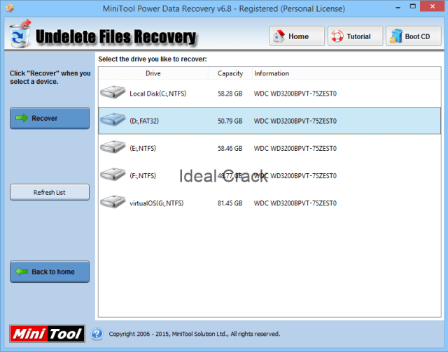 MiniTool Power Data Recovery 2020 Crack With Activation Key Free Download