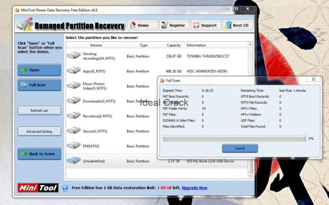 minitool power data recovery keygen 8.1