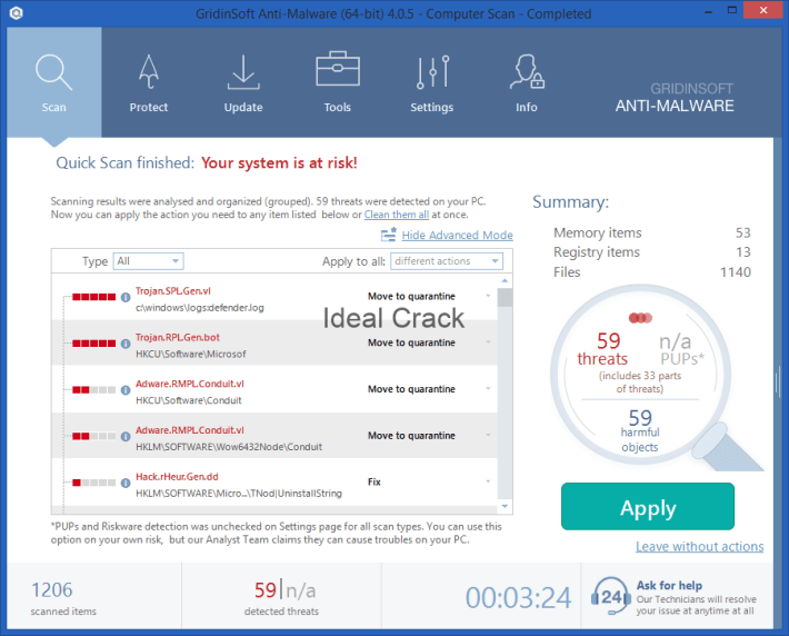 GridinSoft Anti-Malware 2020 Crack With License Key Free Download