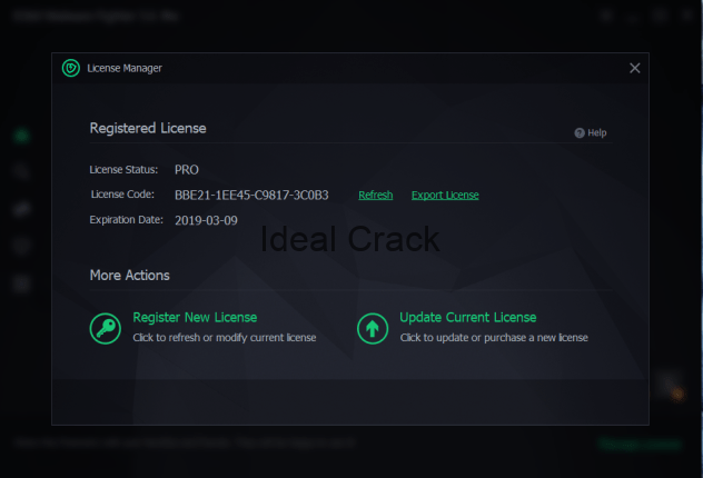 IObit Malware Fighter 6 PRO Crack With License Key 2019