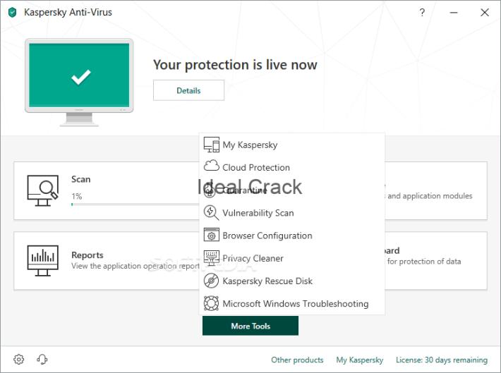 Kaspersky Antivirus 2019 License With Crack Key