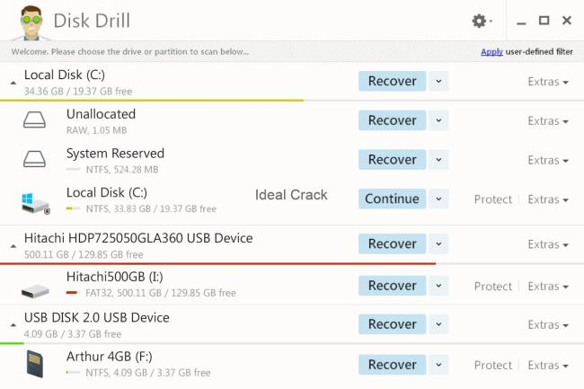 Disk Drill 4.0.487.0 Activation Code With Crack Download 2019
