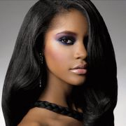 astonishing long black hairstyles
