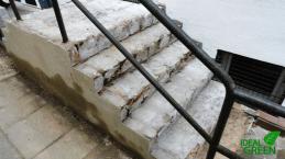Treppe ohne Belag