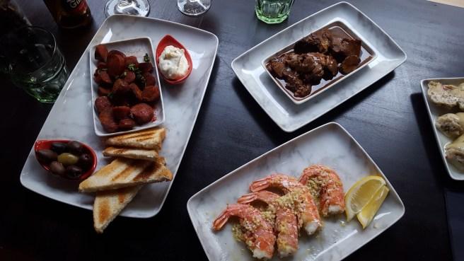Café Kruunu Spanish tapas meals and Spanish drinks.