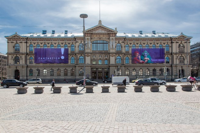 Ateneum facade May 2018 Photo Hannu Pakarinen.