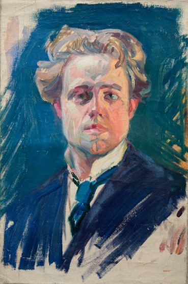 Santeri Salokivi self-portrait.