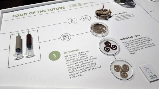 Esittelyssä tulevaisuuden ruokaa.