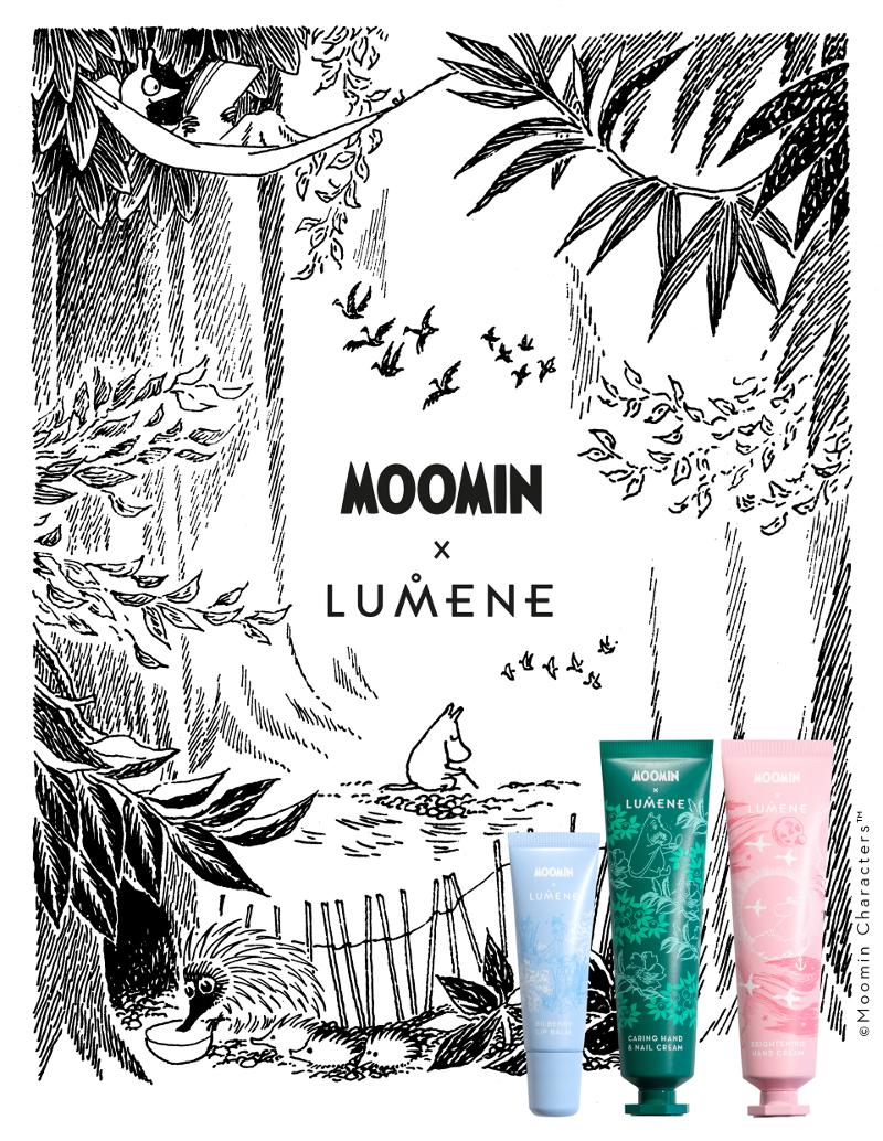 Moomin X Lumene skin care formula