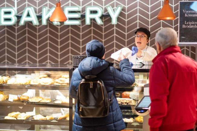 Stockmann Food Market Bakery. Photo Lari Lappalainen