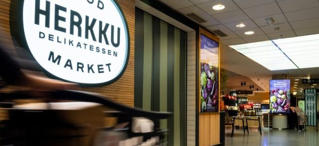 Stockmann Herkku Food Marketin sisäänkäynti Kuva: Lari Lappalainen