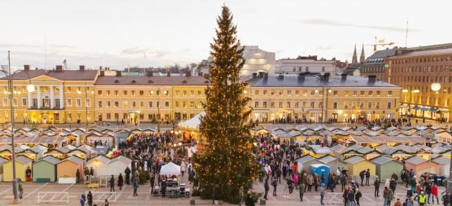 Tuomaan Markkinat - Helsinki Christmas Market.